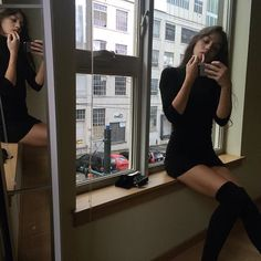 Nada Personal, Heroin Chic, Nyc Girl, Parisian Chic, Photo Instagram, Looks Cool, Gossip Girl, My Outfit, Cool Girl