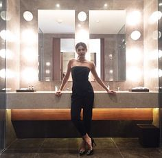 The one and only Naddie💕😍😍 repost from: - She's the only one who can make a simple black jumpsuit look this CHIC 👑💯 effortlessly beautiful for tonight's launch. Nadine Lustre Ootd, Nadine Lustre Fashion, Nadine Lustre Outfits, Nadz Lustre, Joanna Garcia, Filipina Actress, Jadine, Stunning Dresses, Black Jumpsuit