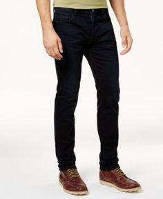 Tommy Hilfiger Men's Slim-Fit Sampson Jeans - Gray 38x30