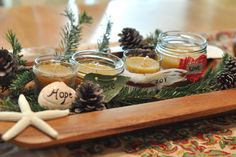A Natural Nester: Winter Lights ~ Advent & Beeswax Candles