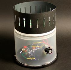 Build: An Electrified Zoetrope from recycled parts