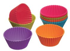 My students enjoy these Colorful Silicone Cupcake Cases. I didn't know what I'd use them for when I originally bought them, but now I know! They're great for giving a student just a few of anything - Japanese Erasers, stickers - anything where you want a colorful option. They are also good fidget toys as it's nearly impossible to make any noise with them.
