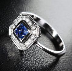 <3 sapphire rings