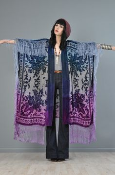 Kimono. cut, sew and add fringe!
