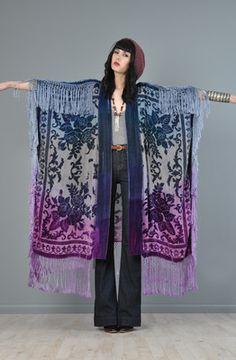 Kimono. cut, sew and add fringe!