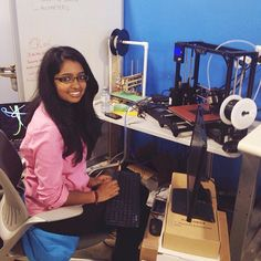Something we loved from Instagram! A couple weeks ago the hashtag #ILookLikeAnEngineer went viral over the Internet. It sparked a movement encouraging individuals and organizations to share their stories about the diversity of women in tech and help redefine expectations of what engineers look like.  Bavithra is a astrophysics/computer engineering co-op student at the University of Waterloo and our hardware/software developer intern. For her job at Lani she learned JavaScript jQuery and Ruby…