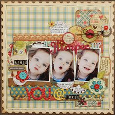 Scrapbook page from One Scrappin' Mama by beckyjune by bethany