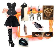 """""""Untitled #62"""" by ziadvil ❤ liked on Polyvore featuring Chicwish and COLLECTION 18"""