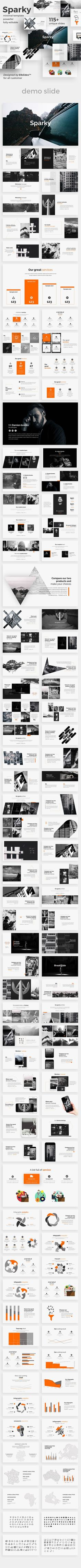 Buy Sparky Creative Powerpoint Template by on GraphicRiver. Features: Aspect Ratio no more broken images! Easy and fully editable in PowerPoint (shape color, size, position. Presentation Design, Presentation Templates, Presentation Slides, Slide Template, Broken Images, Creative Powerpoint Templates, Creative Visualization, Keynote Template, Brochure Design
