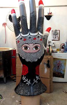 Lexus Art Tour Plaster Hands, Mannequin Art, Show Of Hands, Hand Sculpture, Hand Art, Booth Ideas, Urban Art, Art Blog, Sculpting