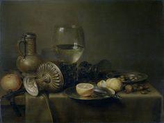 Autor Heda, Willem Claesz Título Bodegón con vaso de plata y reloj Cronología…
