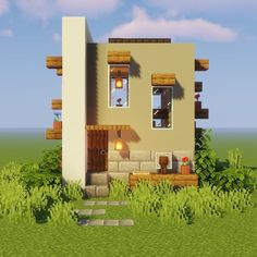 Minecraft Structures, Easy Minecraft Houses, Minecraft Modern, Minecraft Castle, Minecraft Houses Blueprints, Minecraft Room, Minecraft Plans, Minecraft House Designs, Minecraft Decorations