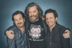 Richard J Speight, Timothy Omundsom and Rob Benedict