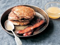 """Pear and Buckwheat Pancakes"" from Cookstr.com #cookstr"