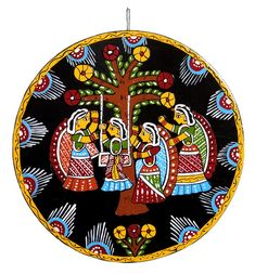 Teej Festival - Wall Hanging (Tikuli Painting on Hardboard) Tikuli Paintings from Bihar HAPPY PUTHANDU ! PHOTO GALLERY  | IMAGES.TAMIL.INDIANEXPRESS.COM  #EDUCRATSWEB 2020-04-13 images.tamil.indianexpress.com https://images.tamil.indianexpress.com/uploads/2020/04/b427-300x164.jpg