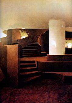 Gae Aulenti, Basement of the Principe di Savoia Hotel, Circa 1965