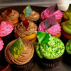 More cupcakes I made