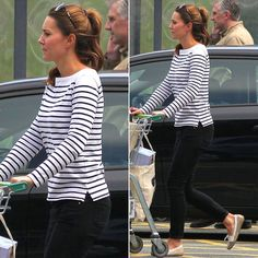 Kate Middleton's first (regular) spotting post baby? Pretty darn perfect