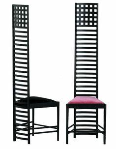 Charles Mackintosh-Hill House Chair