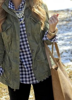 how to wear it well: 20+ Ways to Wear a Gingham (Plaid, Checkered, Buffalo Plaid, or Buffalo Check) Shirt
