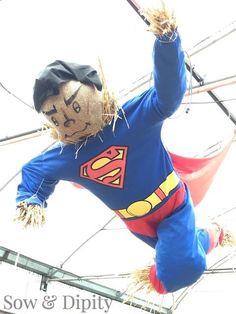 Superman scarecrow (1)