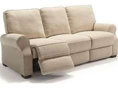 The living room is a space for fashion, but comfort is still foremost in your mind when buying furniture. This reclining sofa is the perfect blend of timeless style and classic comfort, providing a place for family and friends to lounge that you will be proud to show off. The highlights of this model include a space saver mechanism, allowing you to place a reclining sofa closer to the wall and a power recline with hidden, touch-panel release.