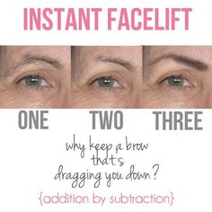 An amazing, no surgery trick for lifting mature eyes!!! Share with your mom, aunt, or stylish grandma. Ladies of all ages deserve to know this secret!