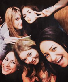 Ashley,Lucy, Troian, Sasha and Shay