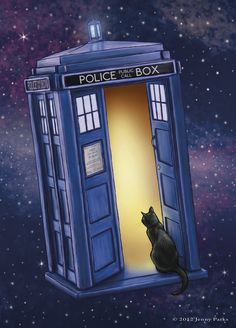 Paws Through Time and Space by Jenny Parks,