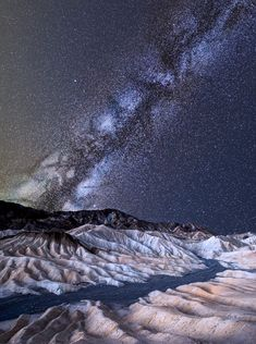 ~~two cracked worlds | Milky Way night sky, Death Valley, California by Ali Erturk~~