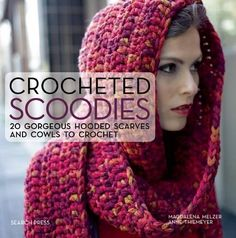 This Crochet Hooded Cowl is a Free Pattern. Make it in Rainbow or Pastel Colours. Check out all the other Free Patterns now.