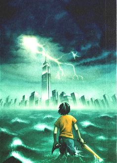The Lightning Thief the book cover is so much nicer than the movie cover!! and more realistic!!!!