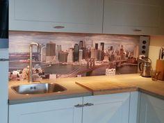 Skyline New York van Visualls