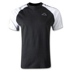 Kappa Banda Raglan Shirt (Black)