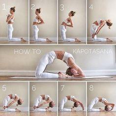 @ - How to: Kapotasana on This pose has always been me . - @ – How to: Kapotasana on This pose has always been my pose … – Yoga - Alo Yoga, Yoga Bewegungen, Ashtanga Yoga, Yoga Flow, Yoga Meditation, Yoga Fitness, Fitness Workouts, Fitness Goals, Dancer Workout