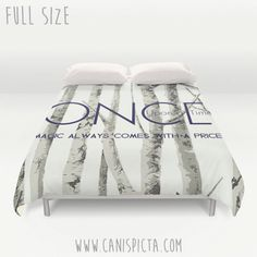 Once Upon A Time Duvet Cover OUAT Queen King Full by CanisPicta
