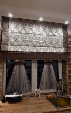 Curtains With Blinds, Interior, Elegant Curtains, Furniture Decor, Shades Blinds, Home Decor, Curtains For Arched Windows, Curtain Designs, Classic Curtains