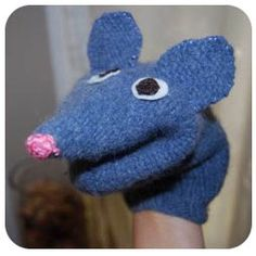 Tutorial for making a puppet from an old sweater