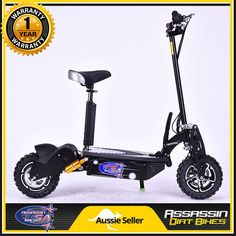 Assassin USA DE1600W 1600Watt BRUSHLESS 48V Electric Scooter NOT 1000W 1200W | eBay