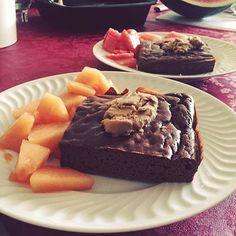 When she cooks for you  BOM DIA pré treino com brownie exclusivo para mim esta miúda só me mima  #runningforpancakesblog #anotodonofoco #fitnesslife #mws #breakfast #breakfastlovers #girlswholift #bodybuilding ( # @anaisagoncalves)