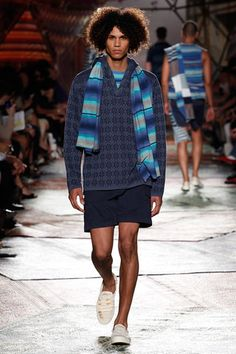 Missoni Spring 2015 Menswear Collection Slideshow on Style.com