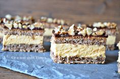 Romanian Desserts, Cake Recipes, Dessert Recipes, Food Cakes, Mousse, Nutella, Sweet Treats, Deserts, Food And Drink