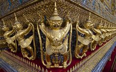 #Bangkok  Wat Phra Kaew (The Grand Palace)