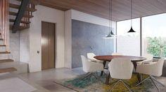 Apartment by destilat - MyHouseIdea Design Studio, Dining Area, Dining Table, Real Estate Development, Interior Design, Inspiration, Furniture, Designs, Home Decor