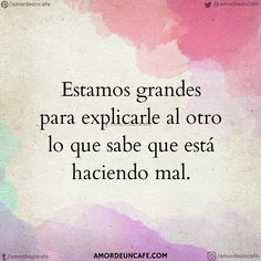 Discover recipes, home ideas, style inspiration and other ideas to try. The Words, More Than Words, Fitness Video, Quotes En Espanol, Love Phrases, Sad Love, True Quotes, Quotes Español, Spanish Quotes