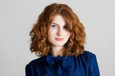 Image result for shoulder length curly layers