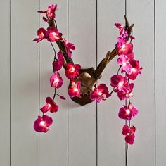 Pink Orchid String Lights