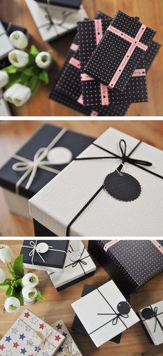 Nowy Rok i nowe produkty! Zaczynamy od zestawu pięknych pudełek dostępnych w różnych wzorach i kolorach. Gift Wrapping, Gifts, Gift Wrapping Paper, Presents, Wrapping Gifts, Favors, Gift Packaging, Gift
