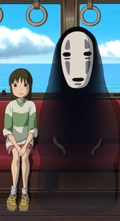 Kaonashi - Spirited Away Studio Ghibli Films, Art Studio Ghibli, Totoro, Cute Cartoon Wallpapers, Animes Wallpapers, Otaku Anime, Anime Art, Spirited Away Wallpaper, Illustration Studio