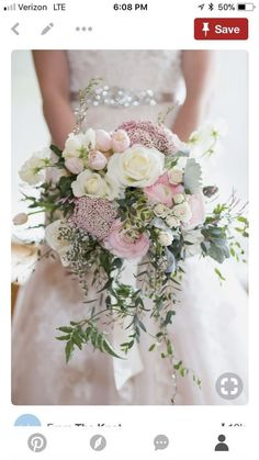 Bridal bouquet shape - see sep pin for colors